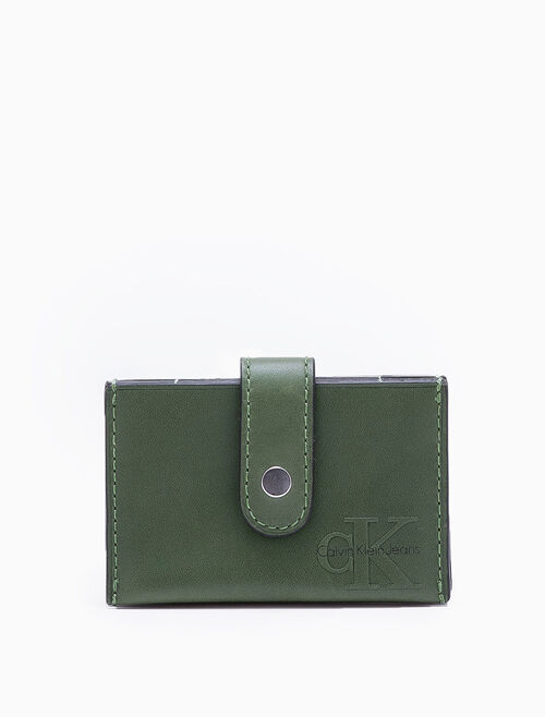 CALVIN KLEIN LOGO REISSUE ACCORDION CARDCASE