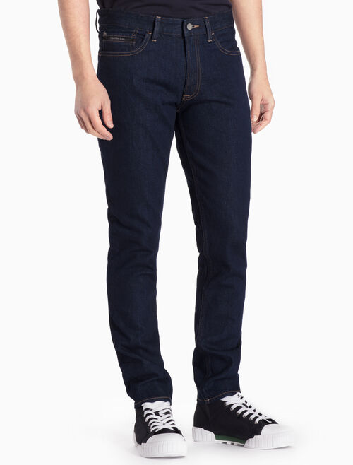 CALVIN KLEIN AKITA RINSE STRAIGHT TAPERED JEANS
