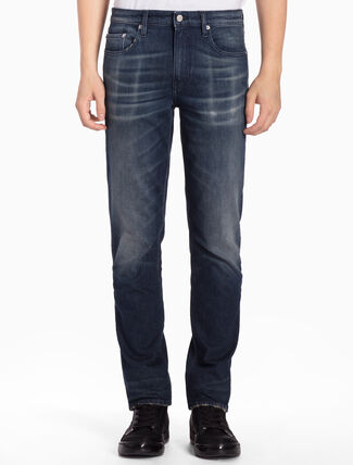 CALVIN KLEIN CKJ 027 MEN BODY QUEENS BLUE SLIM JEANS