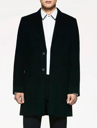 CALVIN KLEIN LUXE TAILORED COAT