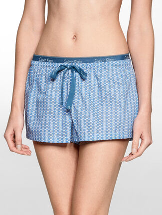CALVIN KLEIN WOVEN COTTON SHORT