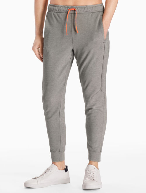CALVIN KLEIN LOGO TECHNICAL SWEAT PANTS