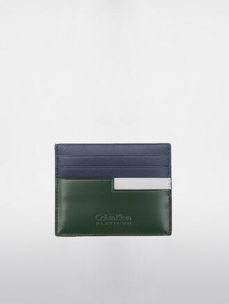 CALVIN KLEIN TWO TONE CLASSIC WALLETS CARDCASE