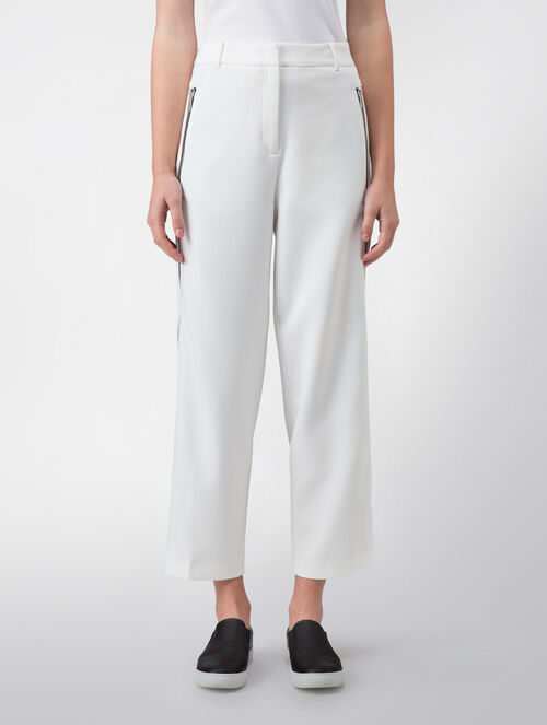 CALVIN KLEIN MODERN STRETCH CARROT SEAMED PANTS - FULLY LINED( PHILLIPA FIT )