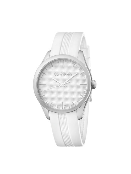 CALVIN KLEIN WHITE COLOR PERFORMANCE WATCH