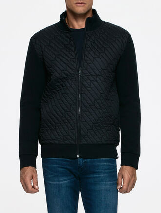CALVIN KLEIN HYSKIA 2 QUILTED ZIP LONG SLEEVES