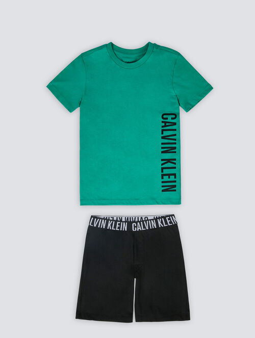 CALVIN KLEIN INTENSE POWER PAJAMA SET