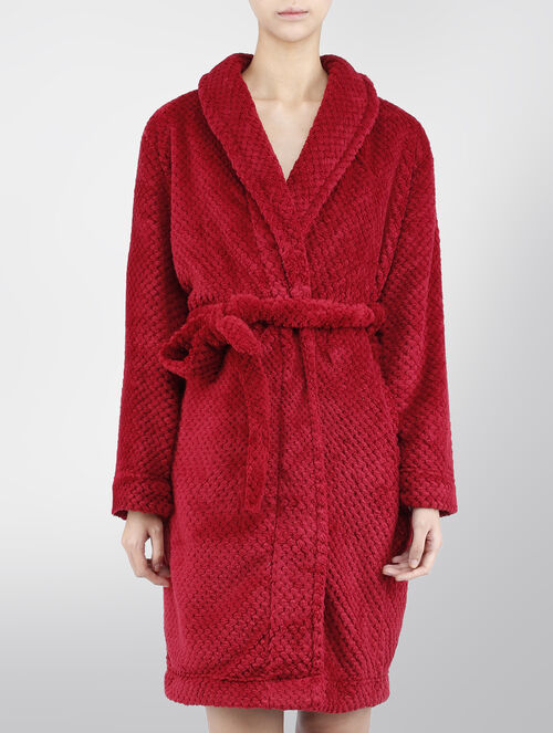 CALVIN KLEIN COZY FLUFFY ROBE