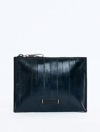 CALVIN KLEIN EXOTIC EEL MEDIUM PORTFOLIO