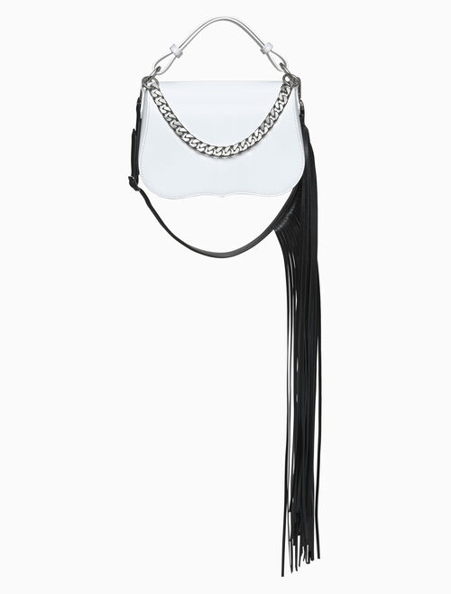 CALVIN KLEIN small shoulder fringe
