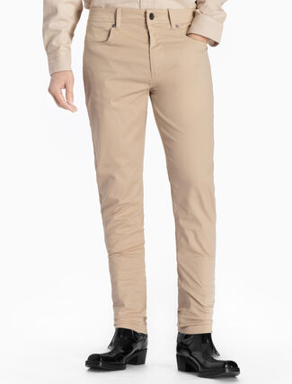 CALVIN KLEIN SLUB TWILL 長褲(合身版型)
