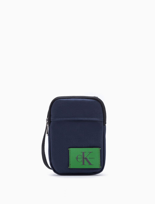 CALVIN KLEIN SMALL POUCH WITH SHOULDER STRAP