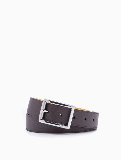 CALVIN KLEIN EXPOSED ROLLER BUCKLE 벨트