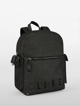 CALVIN KLEIN SURPLUS DENIM CAMPUS BACKPACK