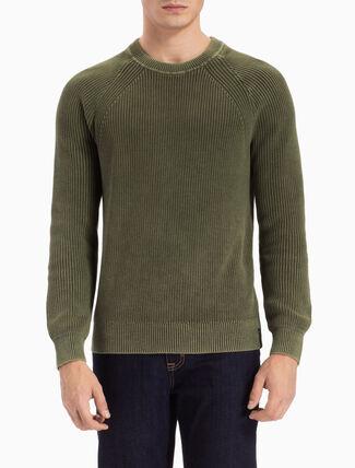 CALVIN KLEIN Spotton レギュラーフィットセーター