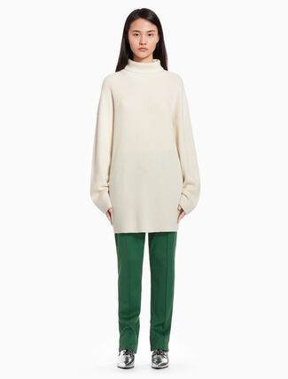 CALVIN KLEIN Long turtleneck pullover sweater