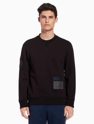CALVIN KLEIN Badge sweatshirt