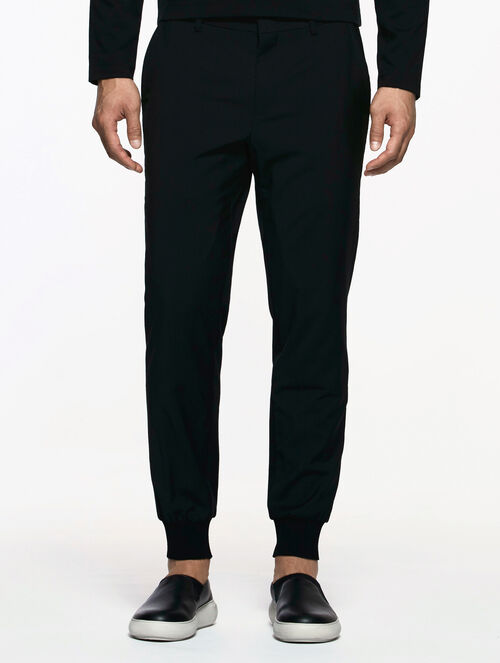 CALVIN KLEIN WOOL CASHMERE JOGGERS