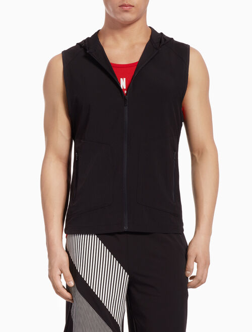 CALVIN KLEIN SLEEVELESS WIND JACKET