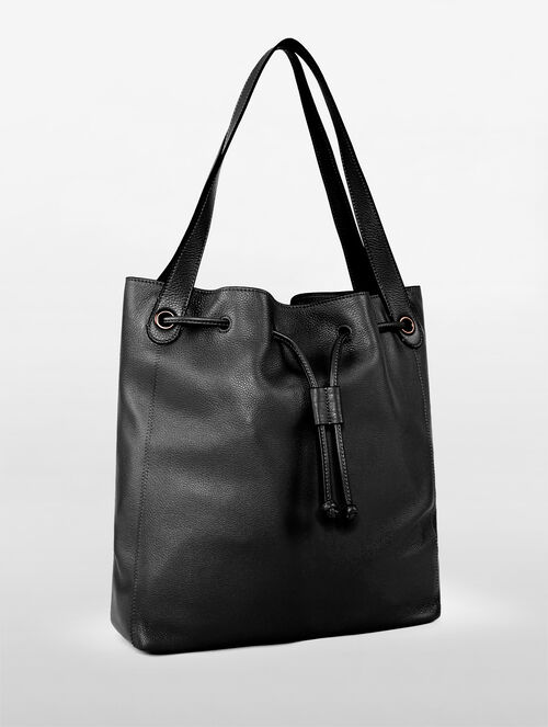 CALVIN KLEIN WORKMAN UNLINED DRAWSTRING TOTE