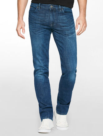 CALVIN KLEIN FLD TXTR MID BODY FIT JEANS