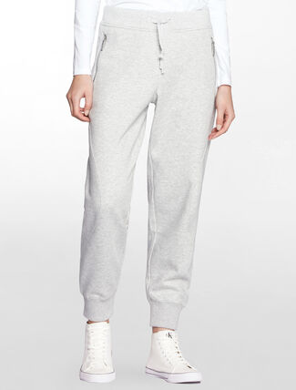 CALVIN KLEIN RELAXED FIT TAPERED SWEAT PANTS