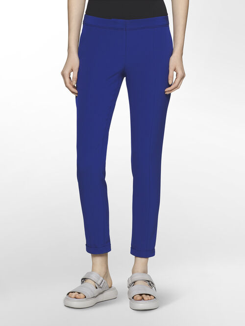 CALVIN KLEIN SCUBA SUITING EXTREME SKINNY CROPPED PANTS  ( PIPER CROPPED FIT )
