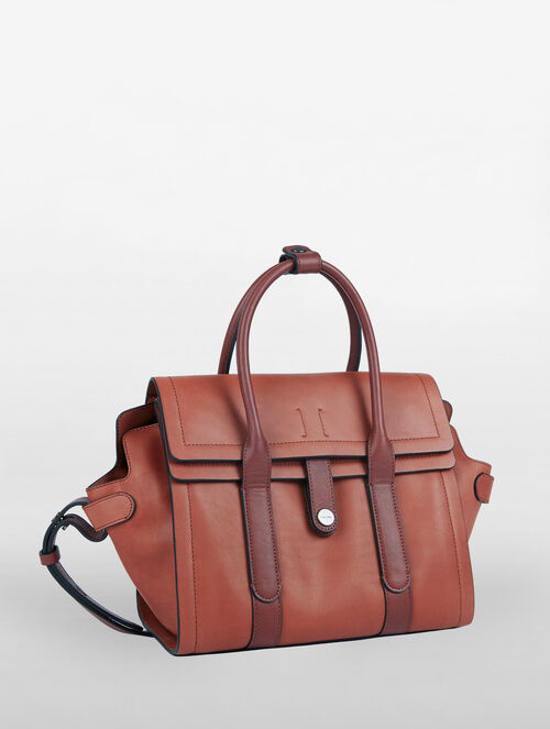 CALVIN KLEIN EDITION VACHETTA CITY SATCHEL