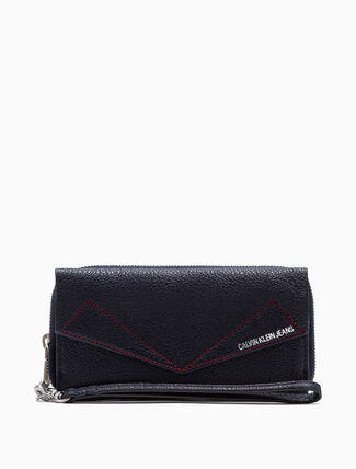 CALVIN KLEIN ZIP AROUND PHONE WALLET