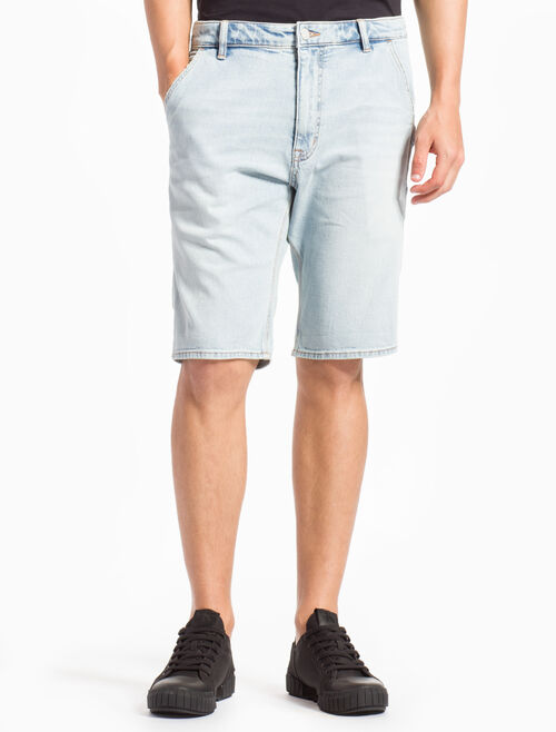 CALVIN KLEIN BERLIN BLUE WASH CARPENTER SHORTS