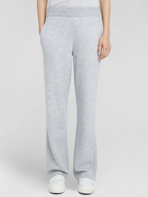 CALVIN KLEIN BOILED CASHMERE SLOUCHY PANT
