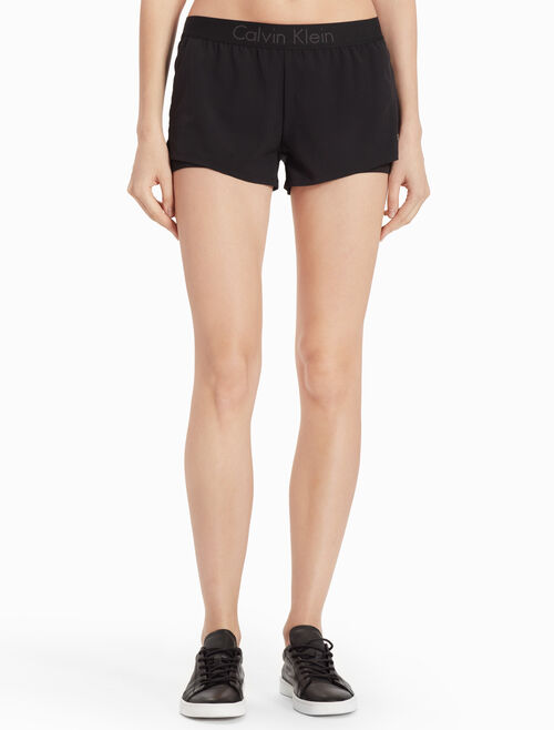 CALVIN KLEIN LOGO SWEAT SHORTS