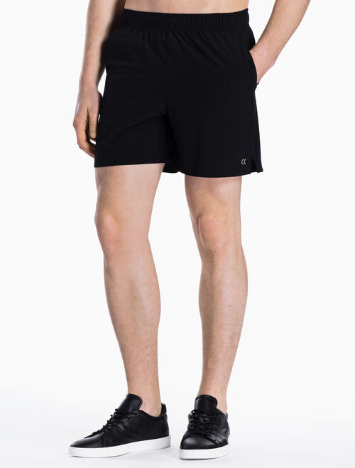 CALVIN KLEIN WOVEN SHORTS WITH MESH LINING