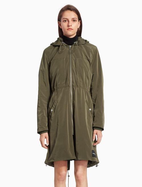 CALVIN KLEIN 나일론 파카 재킷