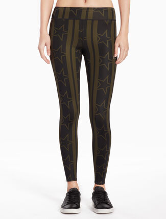 CALVIN KLEIN PRINT FULL LENGTH LEGGINGS