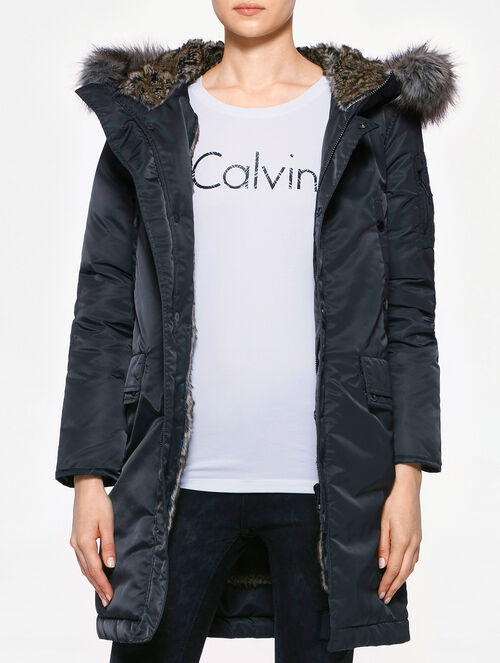CALVIN KLEIN OBSTRU LONG DOWN JACKET