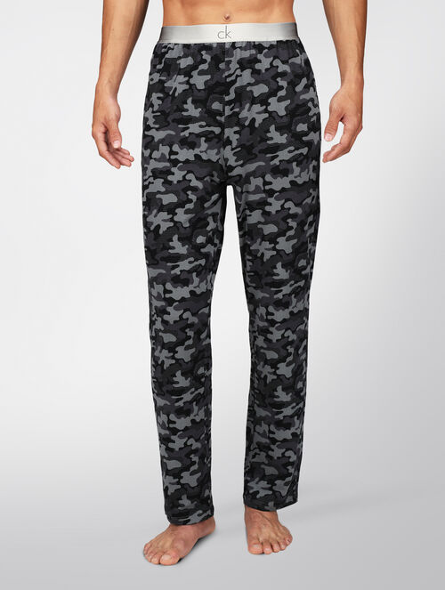 CALVIN KLEIN CK ONE FASHION CAMO KNITTED PANT