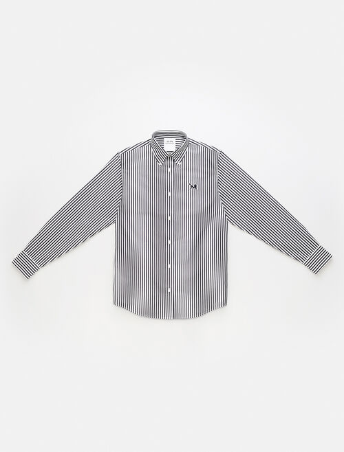CALVIN KLEIN Icon Striped Poplin Shirt