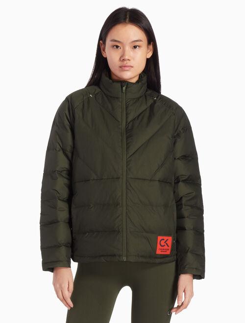 CALVIN KLEIN 숏 3M 퍼퍼 재킷