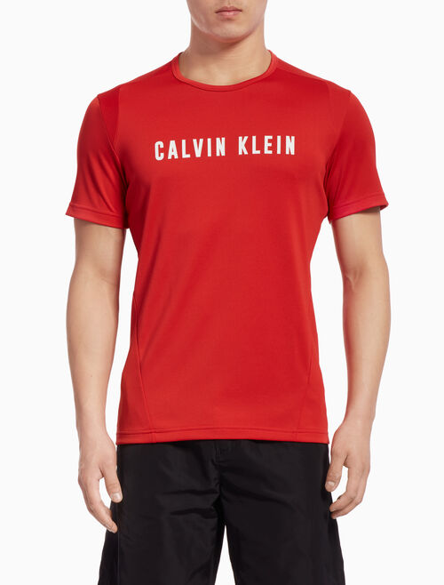CALVIN KLEIN LOGO SHORT-SLEEVE TEE