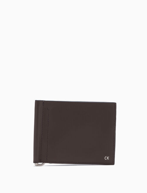 CALVIN KLEIN Raw Logo Money Clip