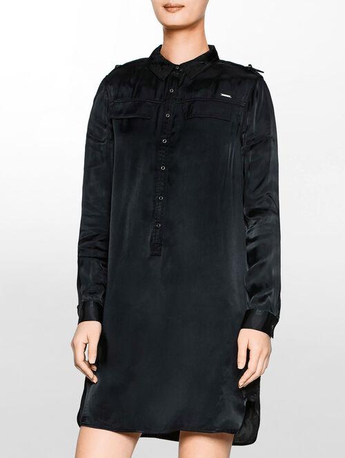 CALVIN KLEIN Damaraシャツドレス