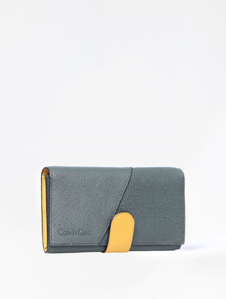 CALVIN KLEIN MIXED TEXTURE CARD PHONE CASE