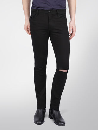 CALVIN KLEIN SKINNY CORE BLACK STRETCH