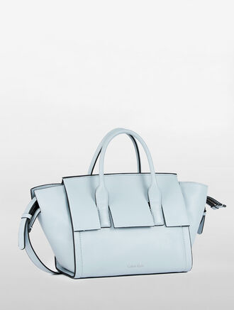 CALVIN KLEIN CARA CITY SATCHEL