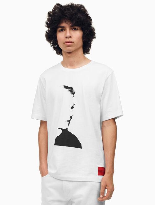 CALVIN KLEIN Warhol Portrait Regular Fit T-Shirt
