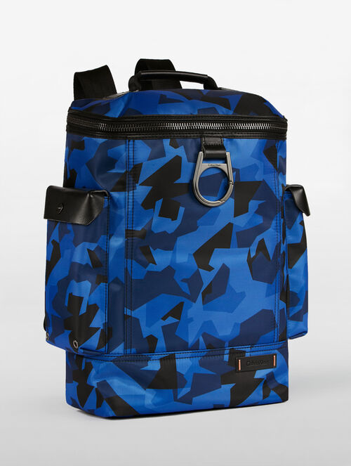 CALVIN KLEIN FLIGHT NYLON ZIPAROUND BACKPACK