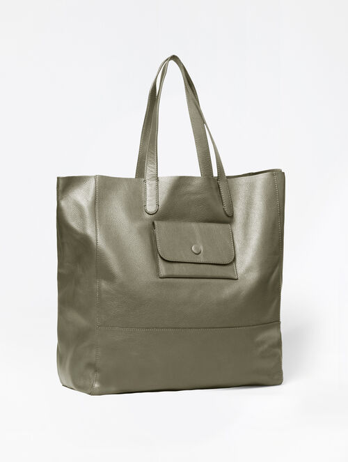 CALVIN KLEIN WORKMAN UNLINED NORTH SOUTH TOTE