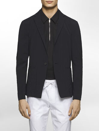 CALVIN KLEIN HEAVY POPLIN JACKET( JAMESON FIT )