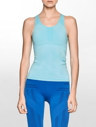 CALVIN KLEIN SEAMLESS TANK WITH PAD